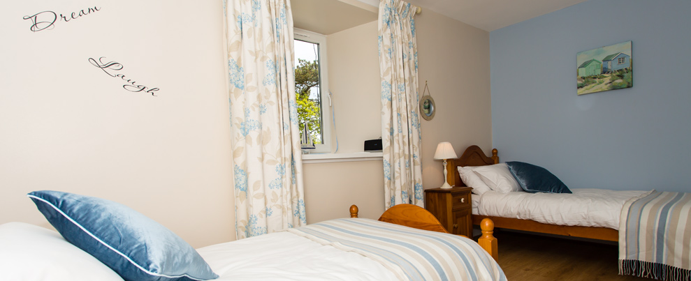 Self Catering twin room