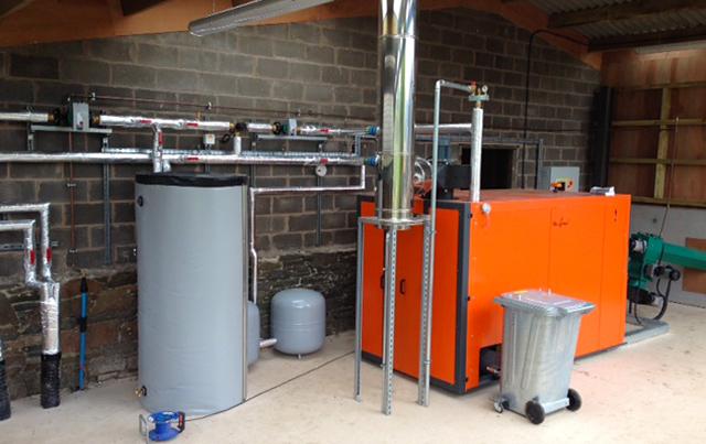 The Heizomat boiler