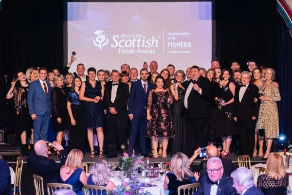 Scottish Thistle Awards Dinner- Winners